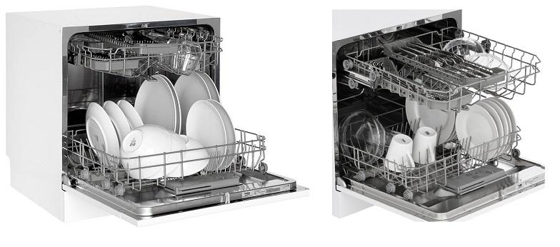 Beko DTC36810W Encimera 8cubiertos A+ lavavajilla - Lavavajillas