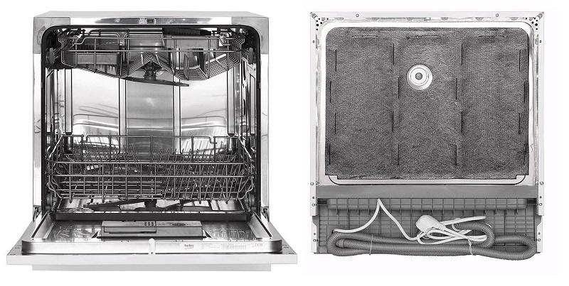 Beko DTC36810W lavavajillas como funciona